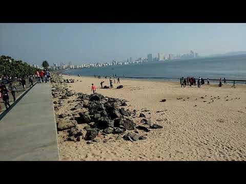 Mumbai Marine Line sea level
