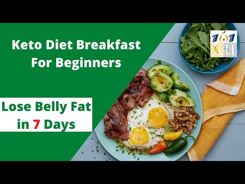 Keto Diet Breakfast For Beginners. | Low Carb Breakfast For Weight Loss