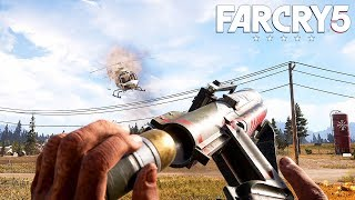 FAR CRY 5 - Open World Gameplay #2 (PS4 Pro) @ 1440p ✔