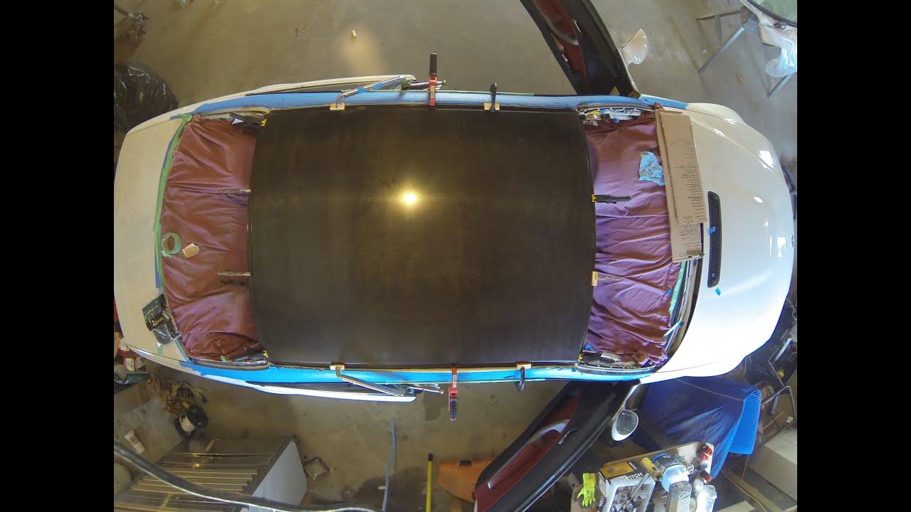 E46 M3 Carbon Fiber Roof Install Time Lapse Youtube