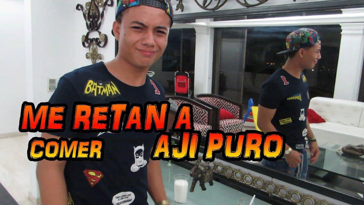 Download RETO -TOMANDO AJI PURO/ Andres Velasquez Tv