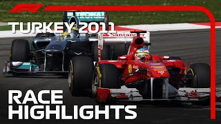 2011 Turkish Grand Prix: Race Highlights