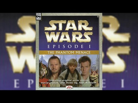 1999 Star Wars Episode I The Phantom Menace ReadAlong Story Book and CD