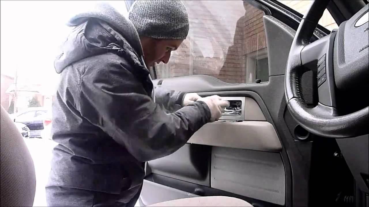 2007 F150 Radio Wiring Diagram 2010 F 150 Door Panel Removal Speaker Install Youtube