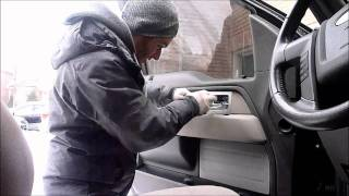 2010 F-150 Door Panel Removal Speaker Install