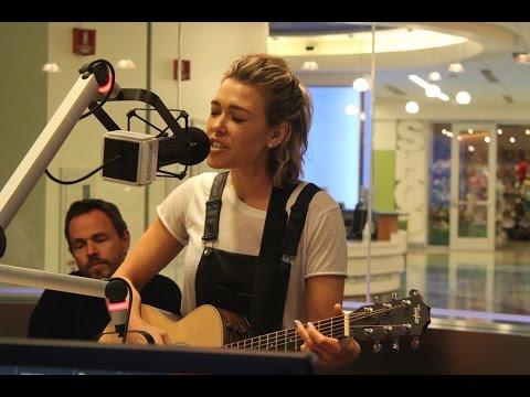 Rachel Platten Sings 'Fight Song' at Seacrest Studios in Orange County