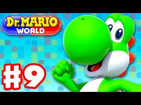 Dr. Mario World - Gameplay Walkthrough Part 9 - Dr. Yoshi! Levels 91-100 3-Star! (iOS)