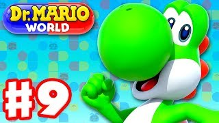 Dr. Mario World - Gameplay Walkthrough Part 9 - Dr. Yoshi! Levels 91-100 3-Star! (iOS)