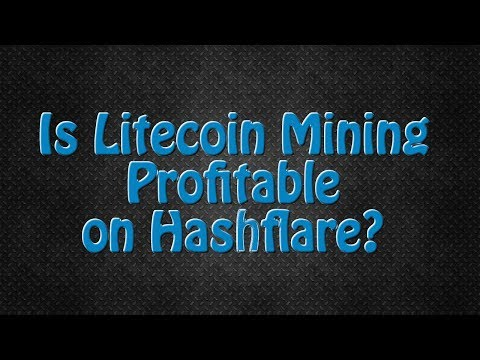 Is Litecoin Mining Profitable On Hashflare? LTC Scrypt Mining Contracts