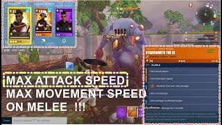 Attack and Movement Speed Perk | Fortnite PVE