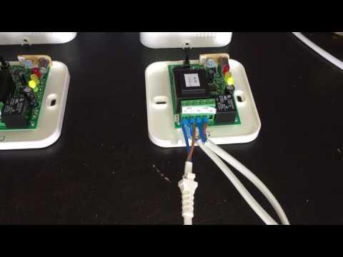 Montaj paralel Detector Gaz Metan Inogas