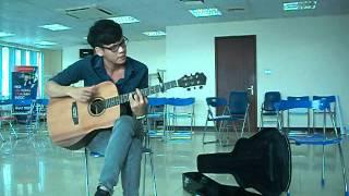 guitar quê hương tôi - golden flower