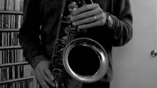 Donna Lee - Charlie Parker (Bob Reynolds demonstrates practice technique)