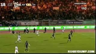 Tries in France 2011 2012 day 22 Racing Metro - Castres