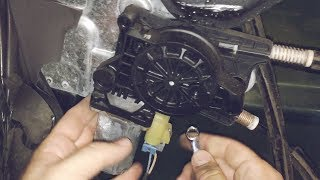 trailblazer window won't roll up - how to remove/replace a power window  motor - youtube  youtube