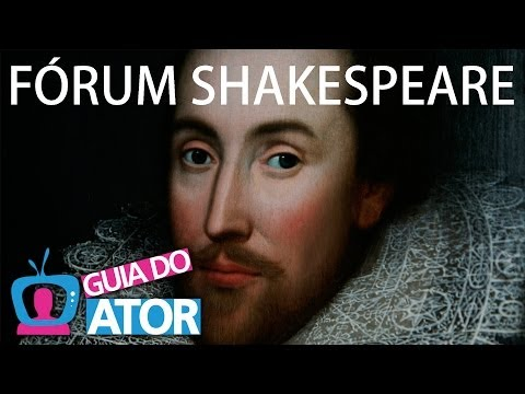FÓRUM SHAKESPEARE - TV GUIA DO ATOR (Programa 75)