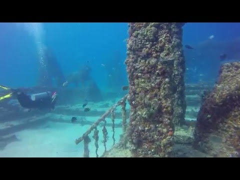 Atlantis Project Artificial Reef, Kay Biscayne FL, 2-13-16