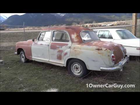 Classic Barn Find Cars Road Trip Mountains & Daily Vlog Video