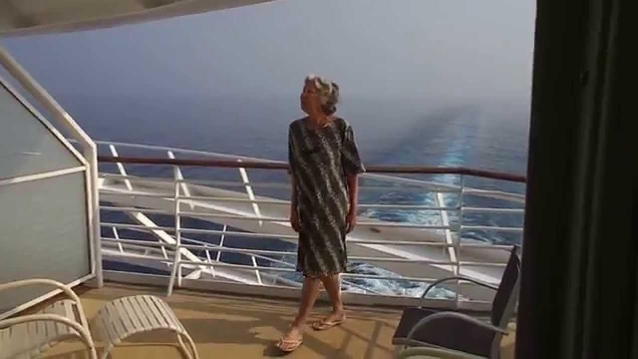 Voyager Of The Seas Aft Balcony Cabin 9692 ボイジャー船尾キャビン