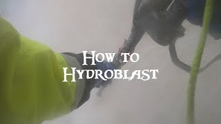 How to Hydro Blast a Pool - How to Prepare a Pool for Plaster - Ultimate Pool Guy 2019