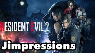 Resident Evil 2 - Explicit Violence And Gore (Jimpressions) (Video Game Video Review)
