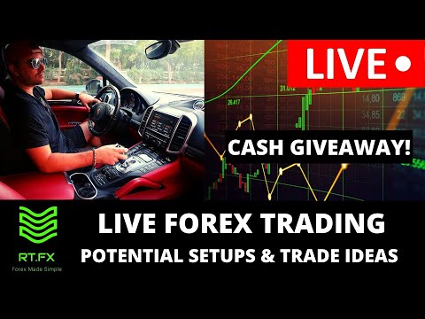 🔴LIVE Forex Trading – London Session Trade Setups and Ideas! MONDAY CASH COMPETITION
