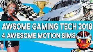 Awsome Gaming Tech 2017 - 4 awesome home Racing simulators every gamer wants