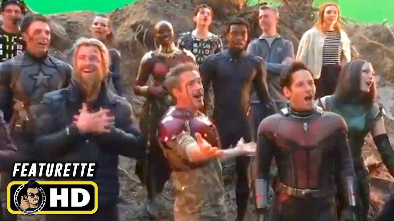 Download AVENGERS: INFINITY WAR & ENDGAME Secret Behind the Scenes Set Videos [HD] Marvel