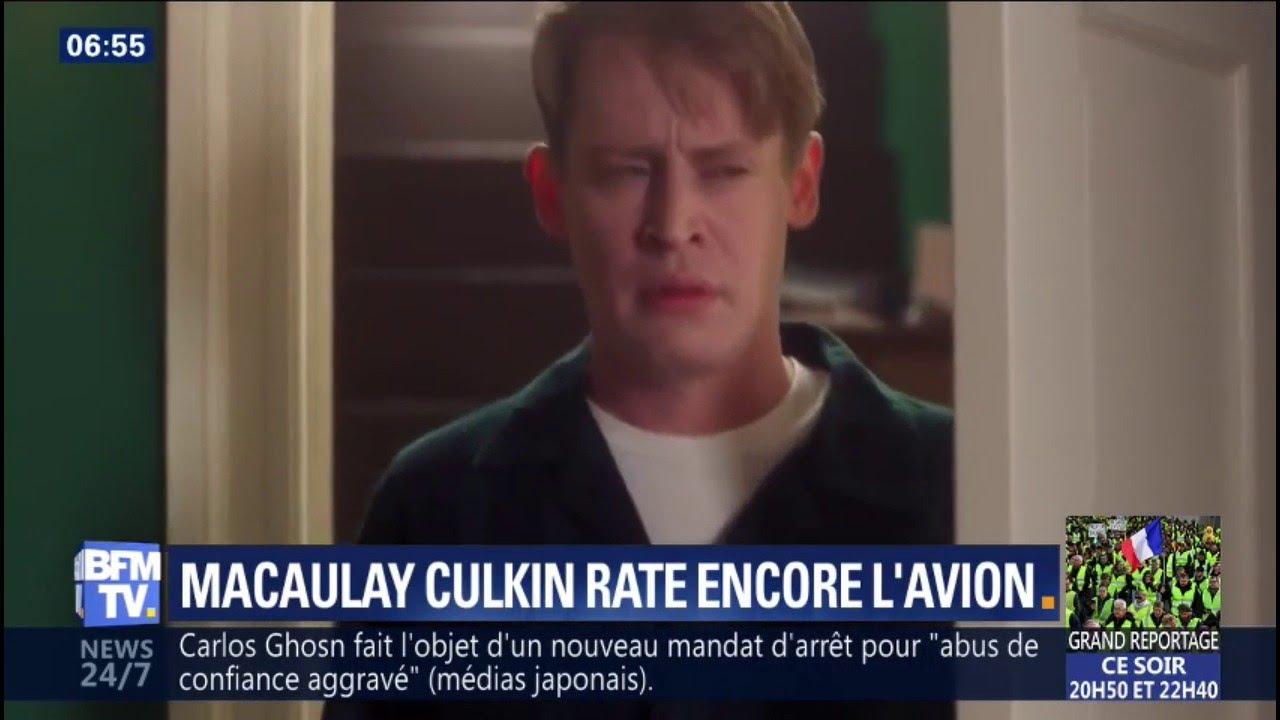 """28 ans après, Macaulay Culkin rejoue """"Maman, j'ai raté l'avion"""" dans une pub pou"""