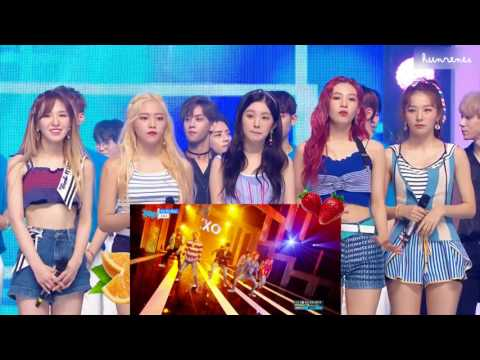 ☼ 170722 RED VELVET REACT TO EXO - KOKOBOP / Show Music Core ☼
