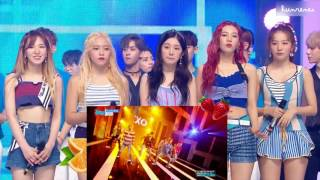 Video ☼ 170722 RED VELVET REACT TO EXO - KOKOBOP / Show Music Core ☼ download MP3, 3GP, MP4, WEBM, AVI, FLV Juni 2018