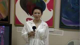 Отзыв с выставки Виктории ПреобРАженской. 2012 год