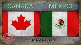 Military power comparison ✪ canada vs mexico ● mexique canadá méxico who is the more powerful? here are countries with most powerful...