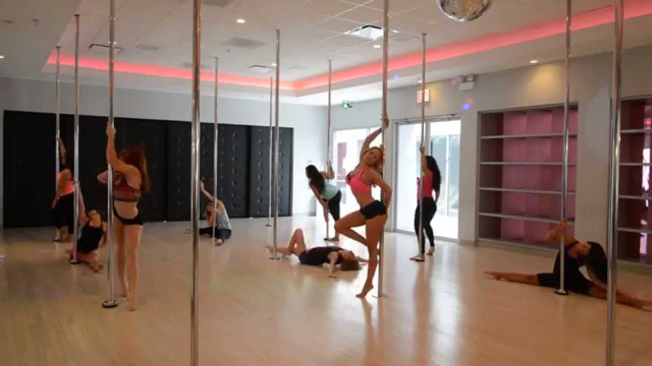 Lindy's Pole Dance Class at Flirty Girl Fitness - YouTube