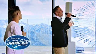 "Gambar cover Gruppe 8:  Ramon & Elvin mit ""Only You/So wie du"" von The Platters/Stein Ingebrigtsen 
