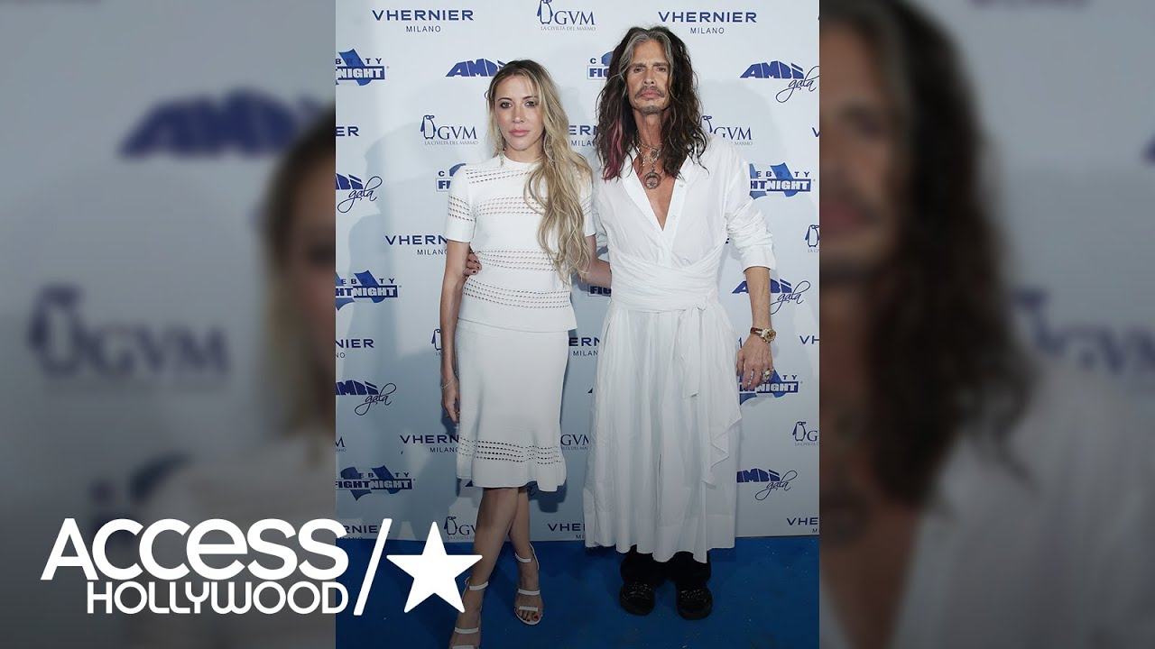 The dress access - Steven Tyler Rocks A White Dress On The Red Carpet Access Hollywood