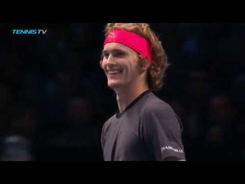 Funny Moments In Zverev Vs Isner | Nitto ATP Finals 2018