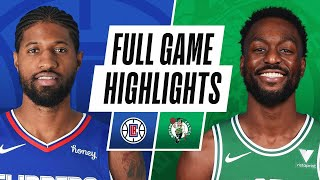 GAME RECAP: Celtics 117, Clippers 112