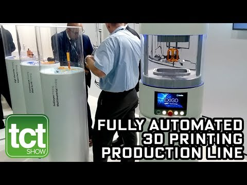 Coobx 3D Printing Production Line World Premiere At TCT Show