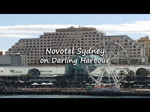 Novotel Sydney on Darling Harbour Hotel Tour