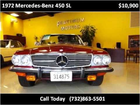 1972 mercedes benz 450 sl used cars freehold nj youtube for Mercedes benz freehold nj