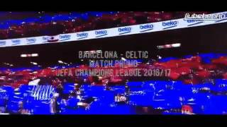 обзор матча Барселона-Селтик 13.09.2016