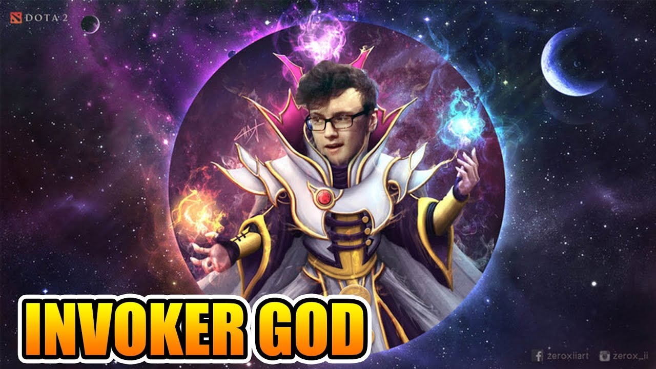 Miracle Dota 2 Invoker The INVOKER GOD Rampage