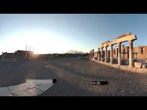 Pompeii walking 360 degree test video