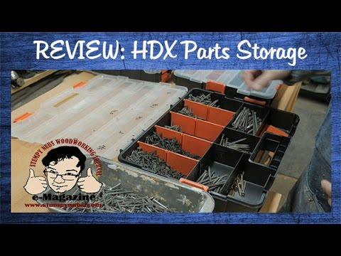 Cheap HDX storage bins/parts containers from Home Depot- are they a good buy?