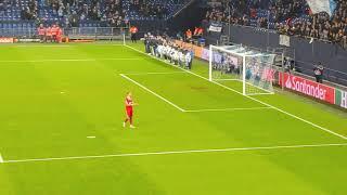 Benedikt Höwedes Ehrenrunde Nordkurve, Champions League 11.12.18 Schalke 04 - Lokomotive Moskau 1:0