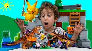 O Mundo dos Dinossauros e Pokemons