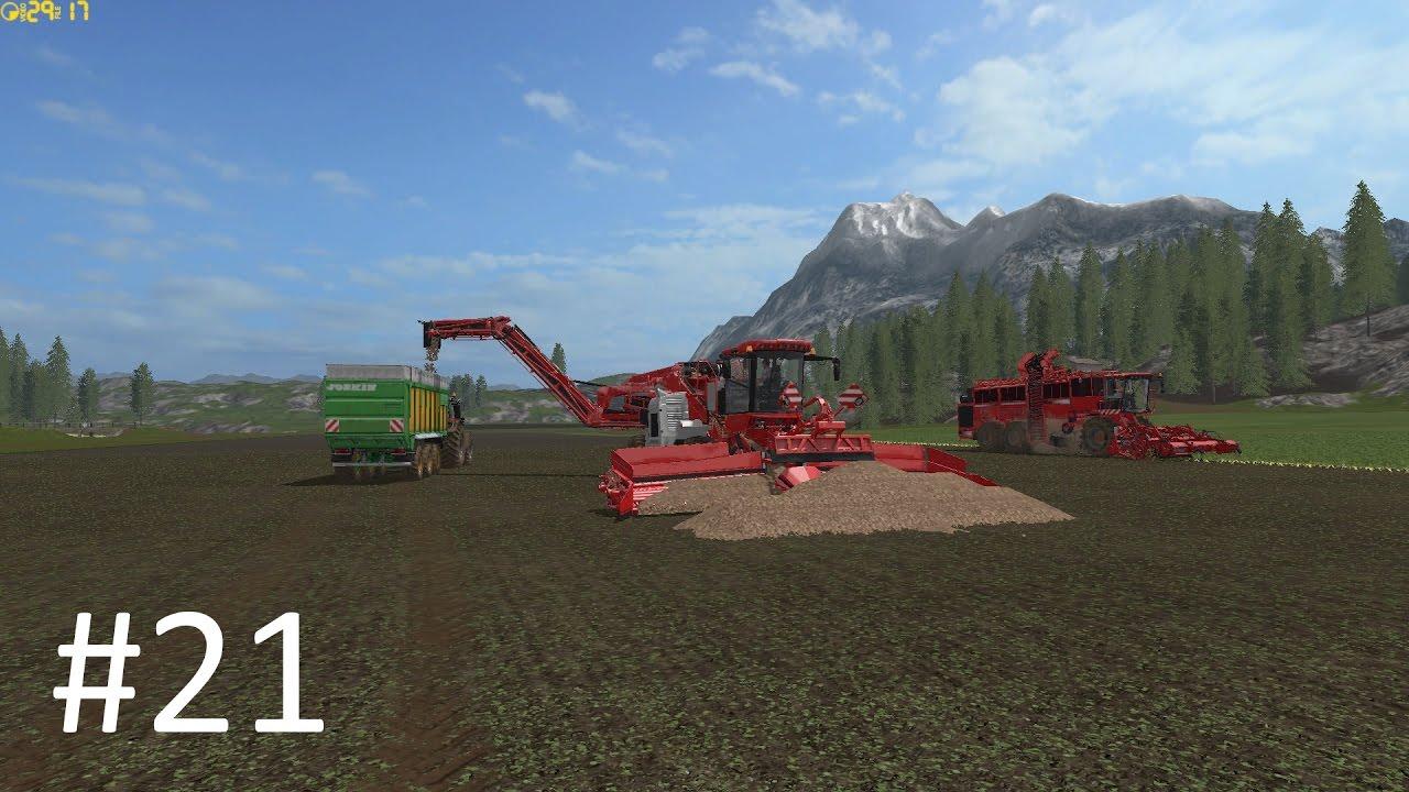 Fs17 / Carrière Suivi / Récolte de betteraves avec des machines de Titan #21