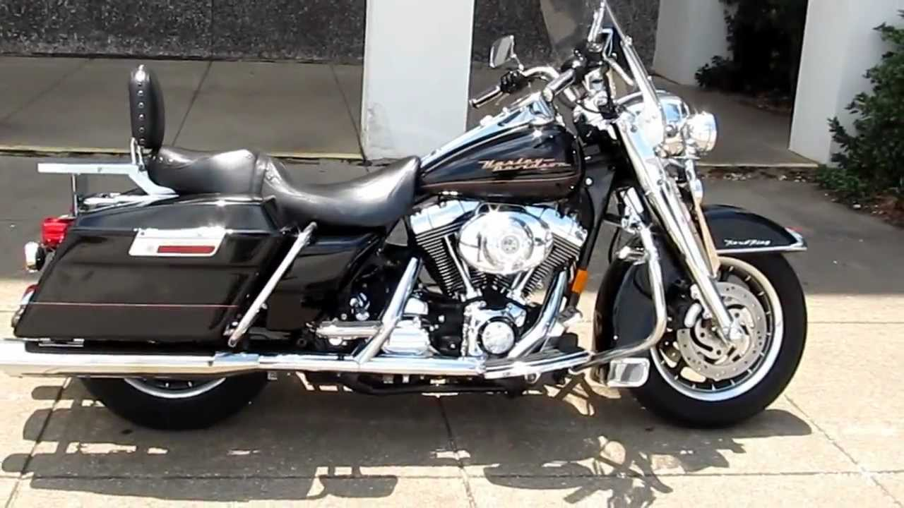 Texas Harley Davidson >> 2001 Harley-Davidson Roadking, chrome front end, for sale in Texas - YouTube