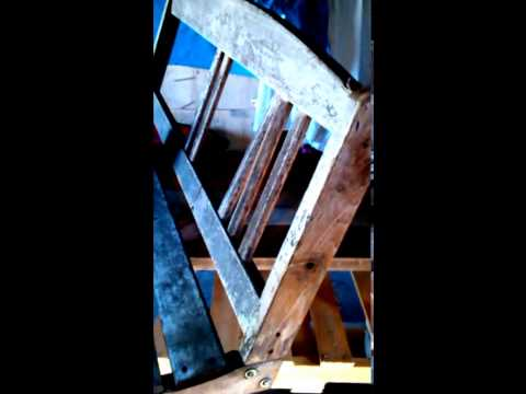 How to: Fixing up an old porch swing